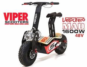 velocifero mad scooter electrico